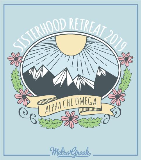 Alpha Chi Omega Sisterhood Retreat Shirt