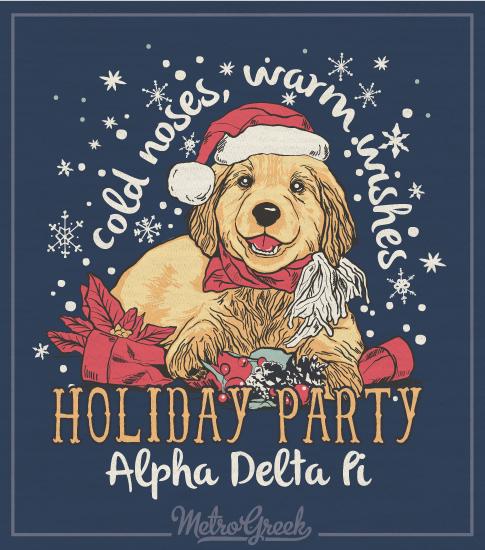 Alpha Delta Pi Christmas Shirt