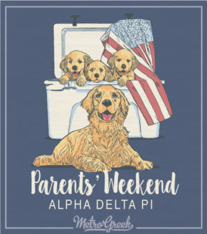 Alpha Delta Pi Parents Weekend Shirt