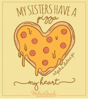 ADPi Pizza Sisterhood T-shirt