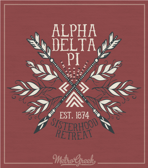 Alpha Delta Pi Sisterhood Shirt