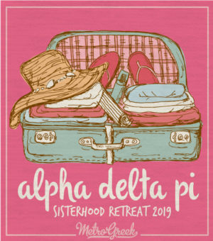 Alpha Delta Pi Sorority Retreat Shirt