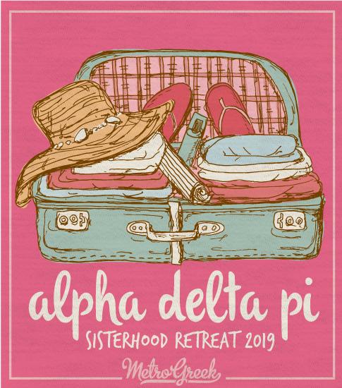 Alpha Delta Pi Sorority Retreat Shirt