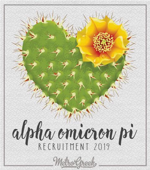 Alpha Omicron Pi Recruitment Shirt