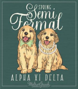 Alpha Xi Delta Semi Formal Shirt