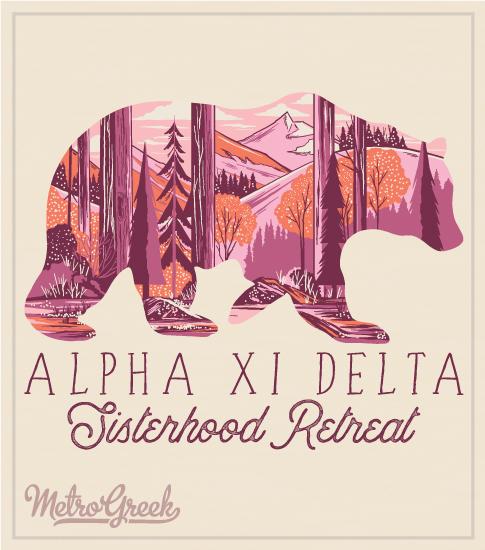 Alpha Xi Delta Sisterhood Retreat Shirt