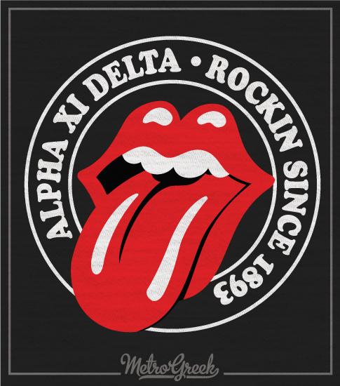 Alpha Xi Delta Rock T-Shirt