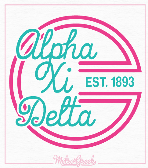Alpha Xi Flowy Tank Top