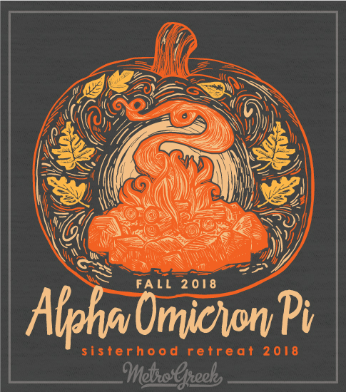 Alpha Omicron Pi Retreat Shirt
