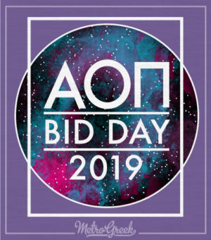 AOPi Out of this World Bid Day Shirt