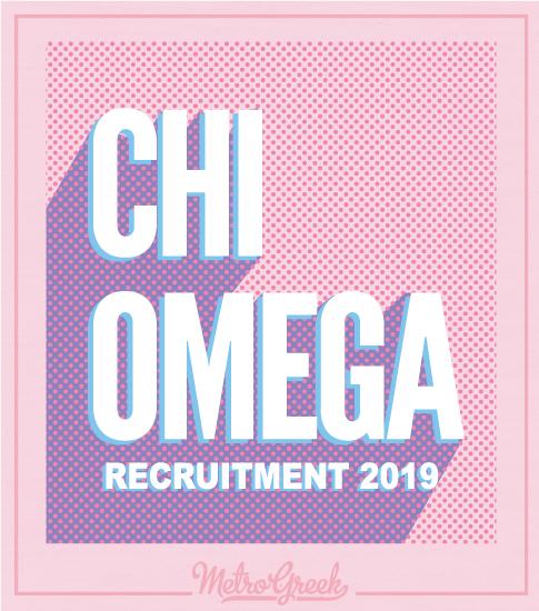 Chi Omega Recruitment T-shirt
