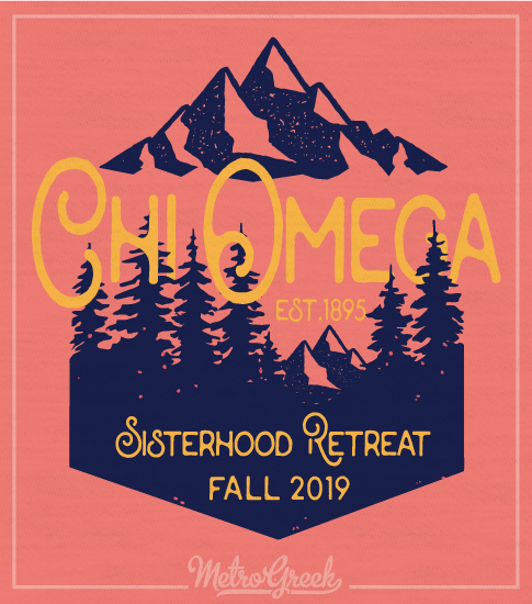Chi Omega Sisterhood Mountain Retreat