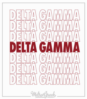 Delta Gamma Graphic T-shirt