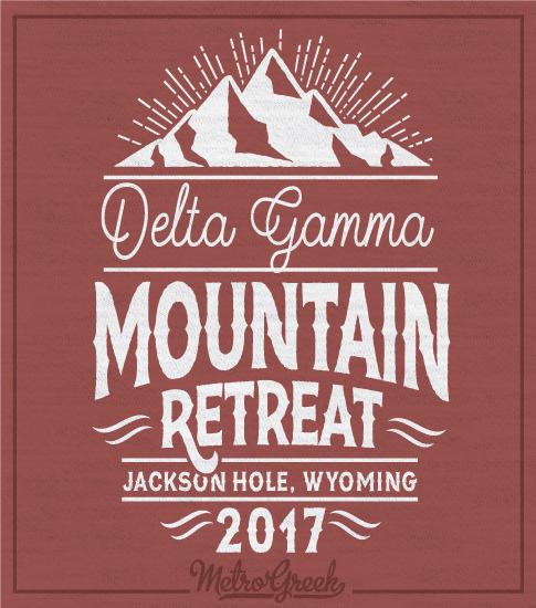 Delta Gamma Mountain Retreat Shirt