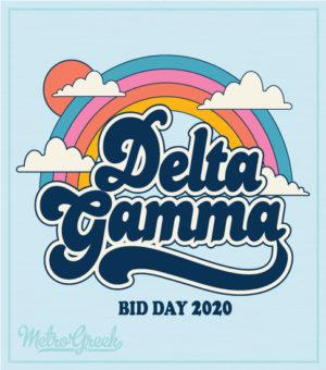 Delta Gamma Rainbow T-shirt