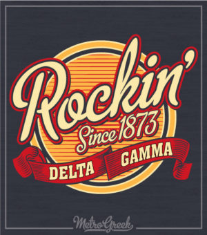 Delta Gamma Bid Day Rock T-shirt