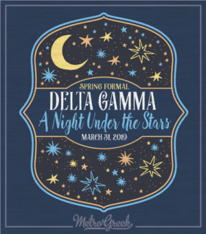 A Night Under the Stars Formal T-shirt