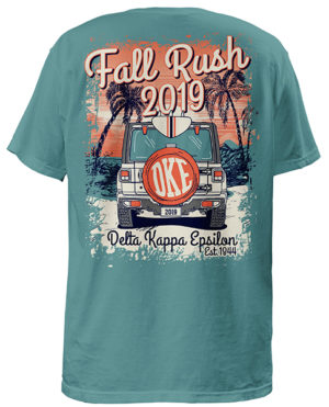 Delta Kappa Epsilon Rush Shirt
