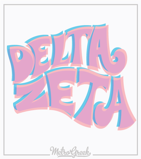 Delta Zeta Retro Bella Shirt