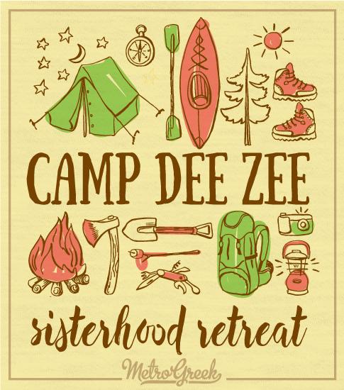 Delta Zeta Sisterhood Retreat T-shirt