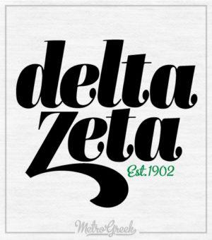 Delta Zeta Ringer T-shirt