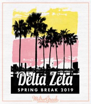Delta Zeta Spring Break Tank