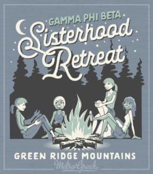 Gamma Phi Beta Sisterhood Retreat Shirt