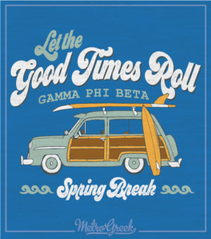 Alpha Gamm Spring Break Shirt
