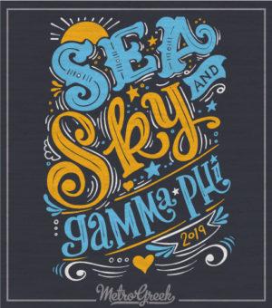 Gamma Phi Beta Sea and Sky Tank Top
