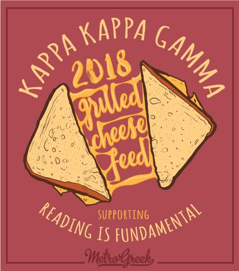 Grilled Cheese Sandwich Philanthropy Shirt