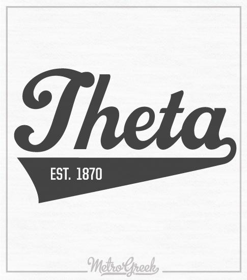 Kappa Alpha Theta Baseball T-shirt