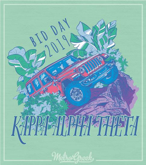 Kappa Alpha Theta Bid Day Shirt