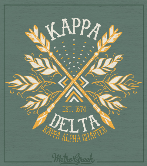 Kappa Delta Crossed Arrow T-shirt