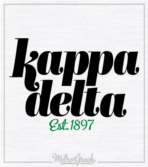 Kappa Delta Ringer T-shirt