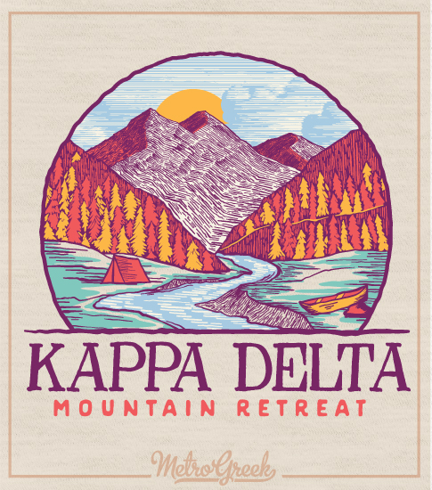 Kappa Delta Retreat Shirt