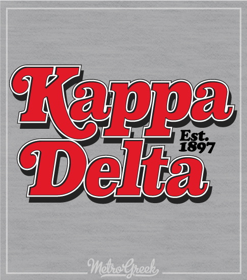 Kappa Delta Rolling Stone Shirt