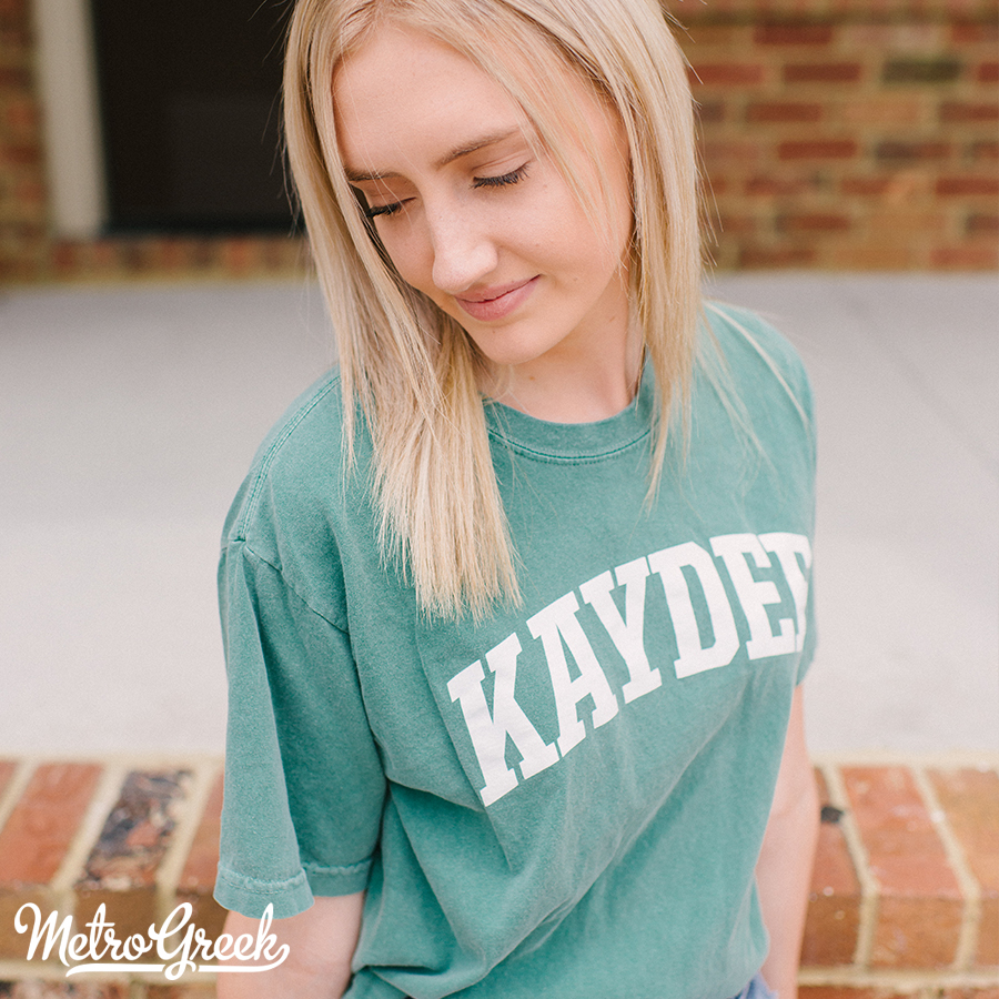Kappa Delta Arched Collegiate T-shirt