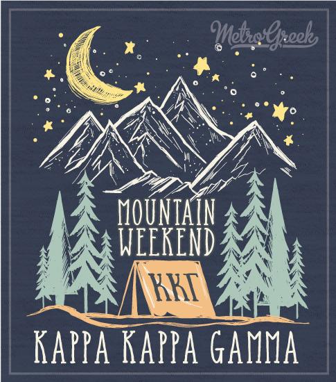 Kappa Mountain Weekend Retreat Shirt