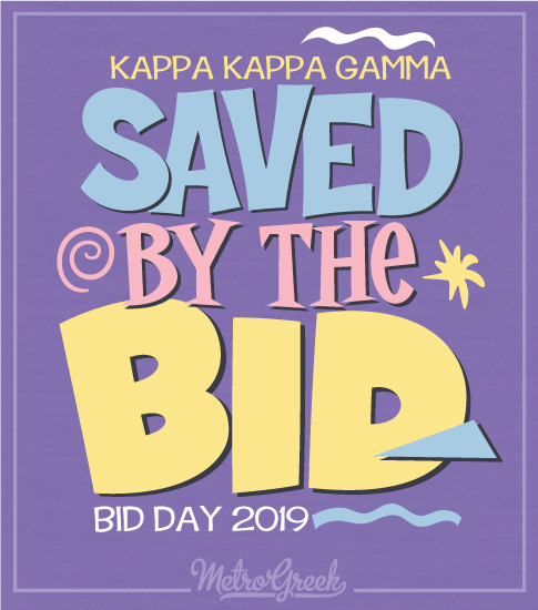 KKG Saved by the Bid T-shirt