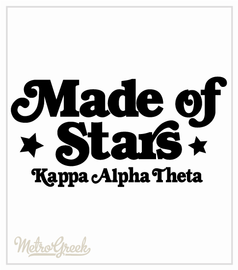 Theta Made of Stars T-shirt