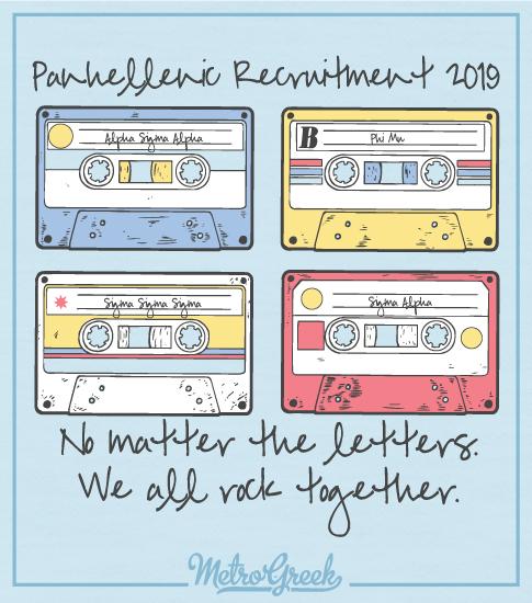 Panhellenic Recruitment Tape Shirt