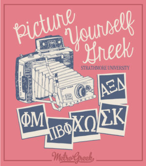 Picture Yourself Greek Panhellenic Shirt