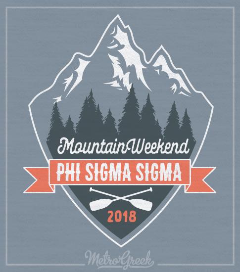 Phi Sigma Sigma Mountain Shirt