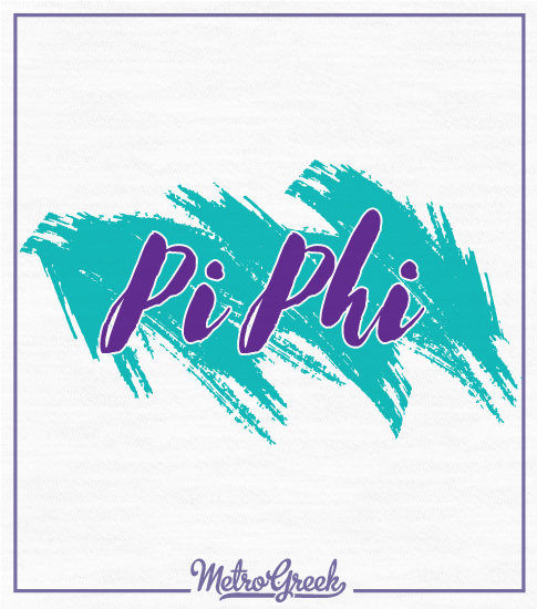 Pi Beta Phi Retro Shirt 90s Style