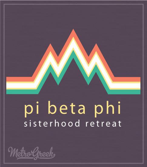 Pi Beta Phi Sisterhood Retreat Shirt