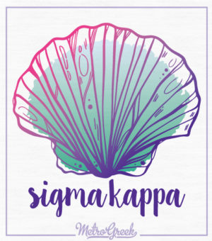 Sigma Kappa Shell Tank Top