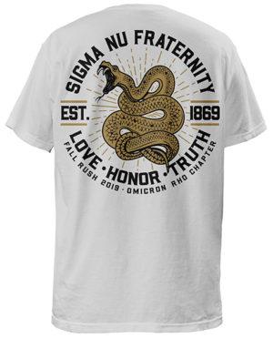 Sigma Nu Snake Rush Shirt