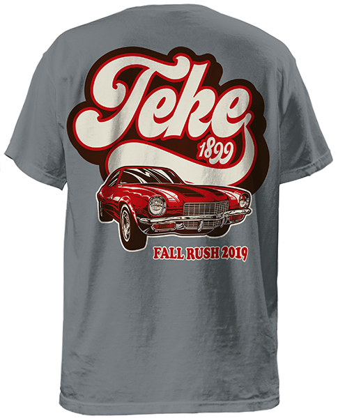 Teke Rush T-shirt - Retro Car
