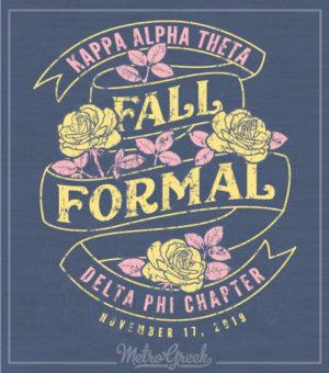 Theta Fall Formal Shirt