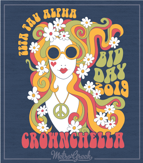 Zeta Bid Day Shirt Coachella